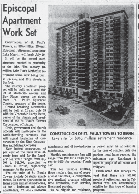 1964_07___St_Paul_s_Towers_second_such_on_Lake_Merritt